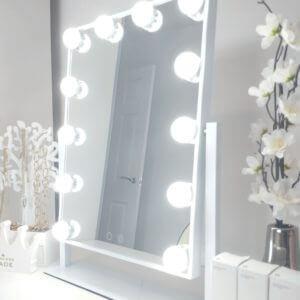 small hollywood mirror
